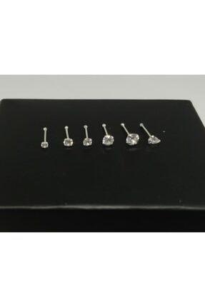 TakıConcept 925 Ayar Zirkon Taşlı 6 Adet Gümüş Hızma Set