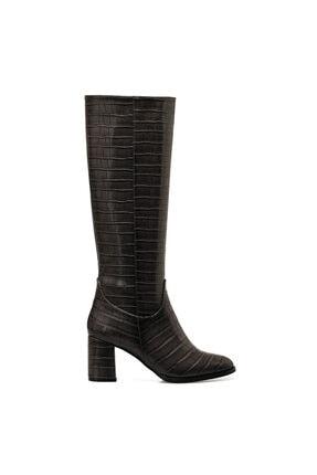 Nine West MASSA Gri Kadın Ökçeli Çizme 100579413