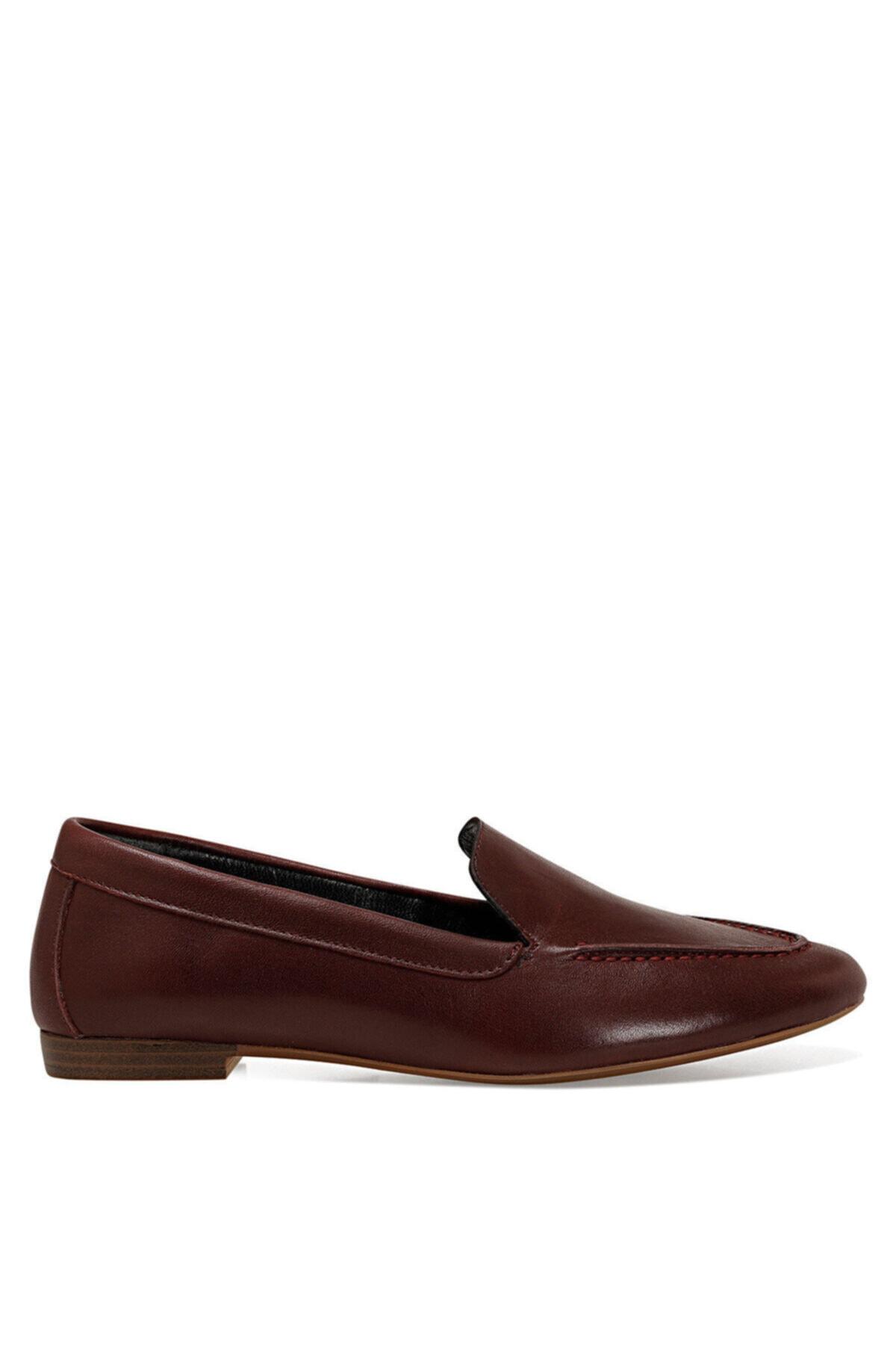 Nine West SUSHI Bordo Kadın Loafer Ayakkabı 100582253 1