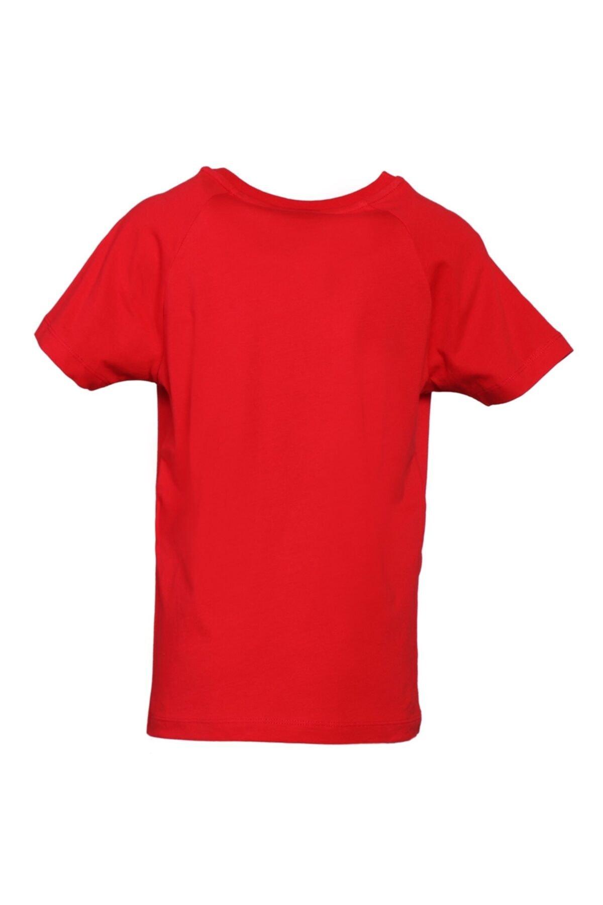 HUMMEL Çocuk Kırmızı T-shirt 2