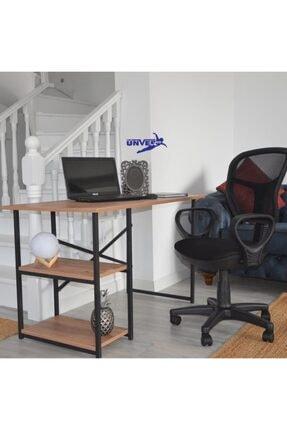 UNVERCO Sıracu S 60x120 Cm 2 Raflı Calısma Masası Laptop Ps Bılgısayar Masası Ofıs Ders Cocuk Masa