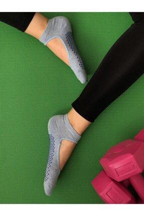 B&D SOCKS Kadın Kaydırmaz Pilates Ve Yoga Çorabı 3'lü
