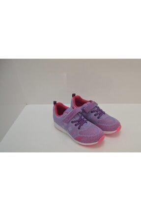 Ata Ayakkabı Çanta Kız Çocuk Mor File Spor Ayakkabı