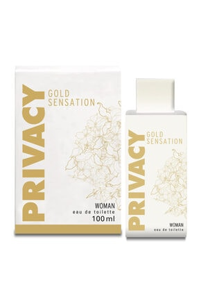Privacy Gold Sensation Edt 100 Ml Women