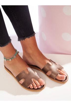 ayakkabıhavuzu Kadın Bakır Terlik