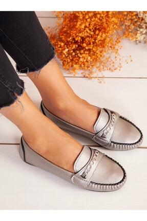 ayakkabıhavuzu Kadın Platin Günlük Ayakkabı