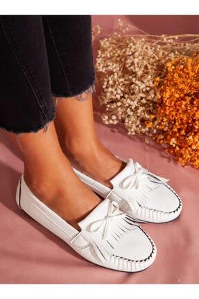 ayakkabıhavuzu Kadın Beyaz Günlük Ayakkabı