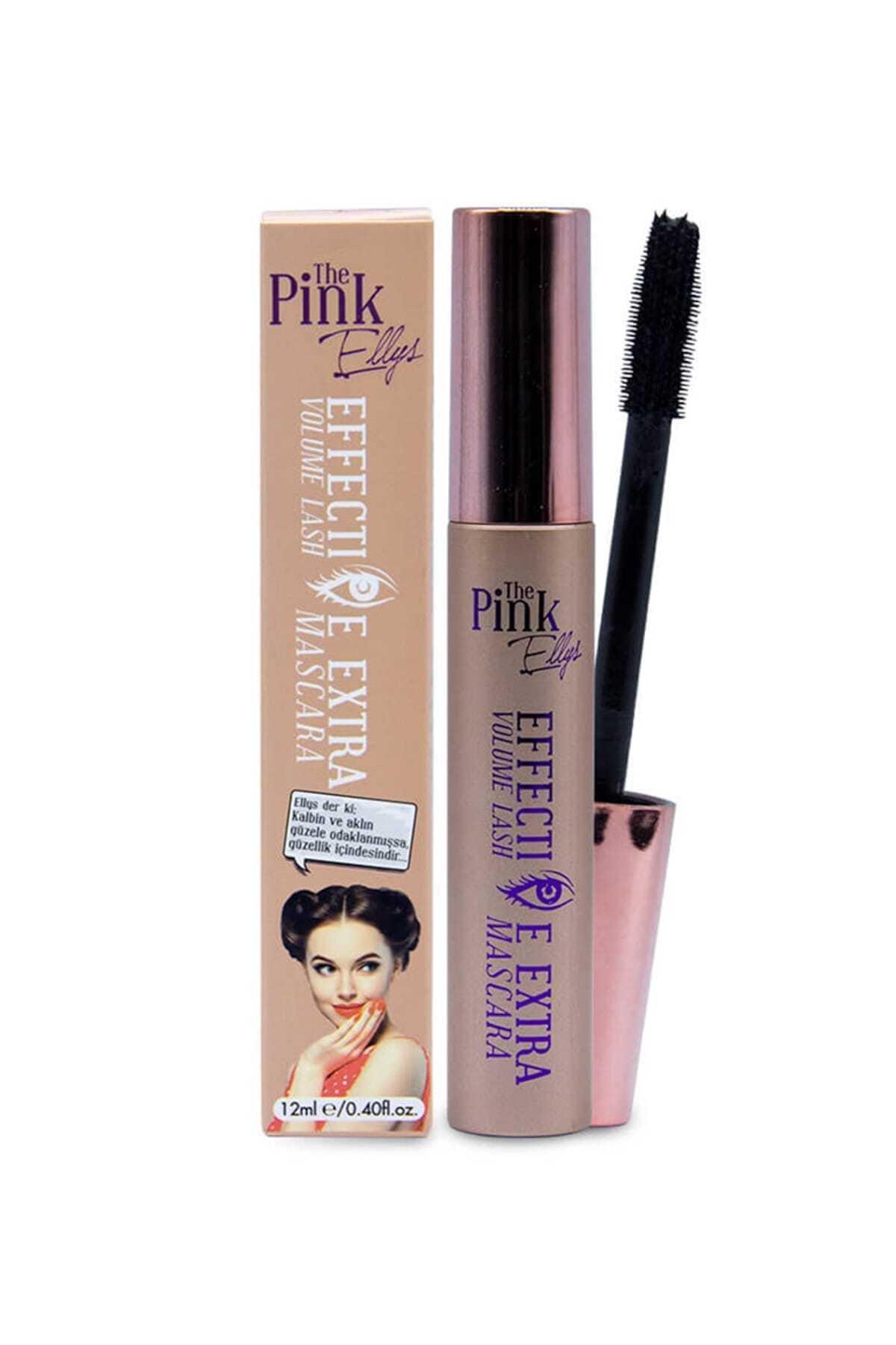 The Pink Ellys Siyah Maskara - Effective Extra Volume Lash Mascara 8690000468577 1