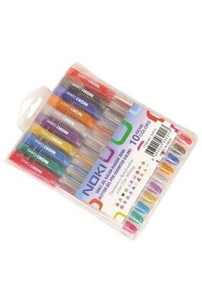 Noki Simli Jel Kalem Karışık Renk 10 Renk 1 Mm