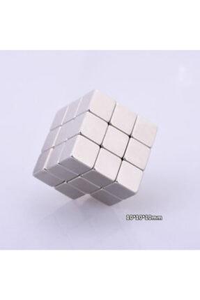 Dünya Magnet 20 Adet 10mm X 10mm X 10mm Güçlü Küp Neodyum Mıknatıs