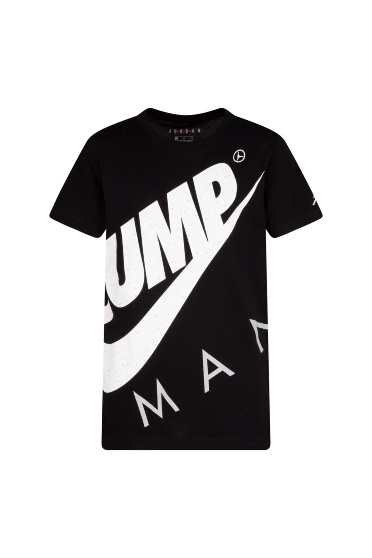 Nike Unisex Çocuk Siyah Jordan Jumpman Street Team  T-shırt 95A352-023 1