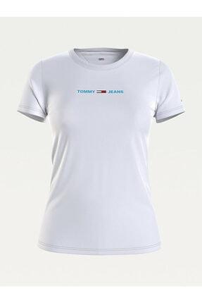 Tommy Hilfiger Tjw Slım Multı Lınear Logo T-shırt