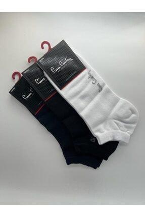 Pierre Cardin Erkek  Paket Karışık Renk Bambu Patik Çorap Fua Shop 3'lü