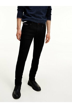 Tommy Hilfiger Slım Bleecker Wstr Kıncaıd Black Denim Pantolon