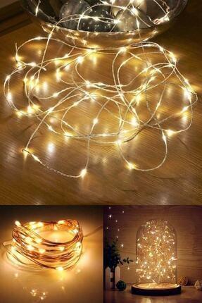 Parti dolabı Peri Led Işık 3 Metre (sarı Günışığı)
