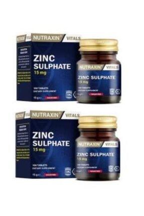 Nutraxin Zinc 15 Mg 100 Tablet X2