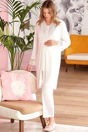 Pierre Cardin Lohusa 3'lü Pijama Takım