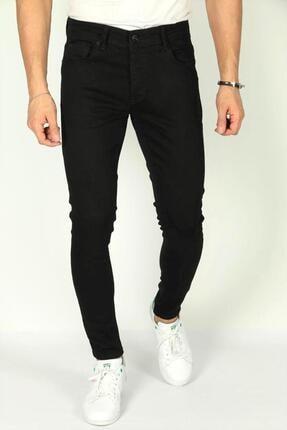 Oksit Reax 13 Slim Fit Likralı Siyah Erkek Jean
