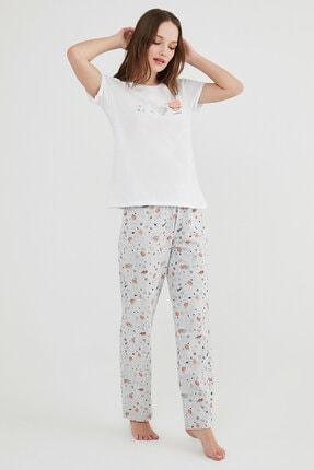Penti Çok Renkli Galaxy Ss Pijama Takımı