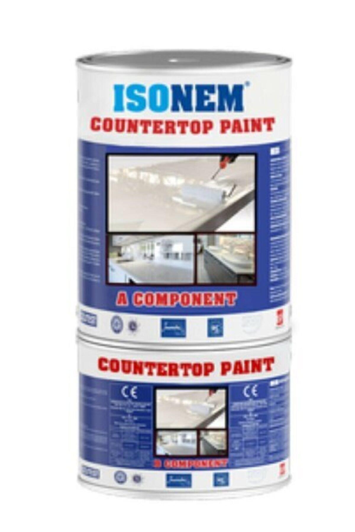 Isonem Countertop Paınt Tezgah Boyası Beyaz 1 Kg 1