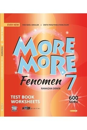 Kurmay Elt Yayınları Kurmay More And More 7. Sınıf Fenomen Test Book Worksheets