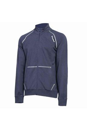 HUMMEL Erkek Lacivert Fermuarlı Sweatshirt