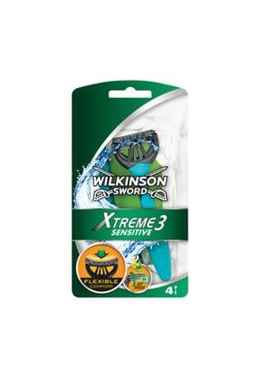 Wilkinson Xtreme3 Üç Bıçak  Blister 4'lü