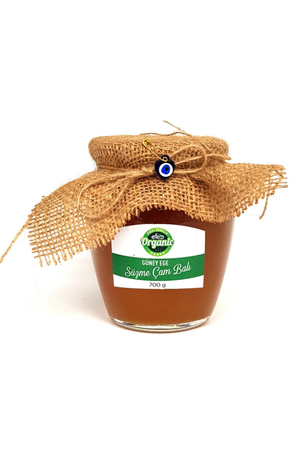 Efe Organik Güney Ege Süzme Çam Balı 700 gram 1