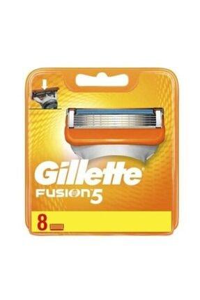 Gillette Fusion 8'Li Yedek Tıraş Bıçağı