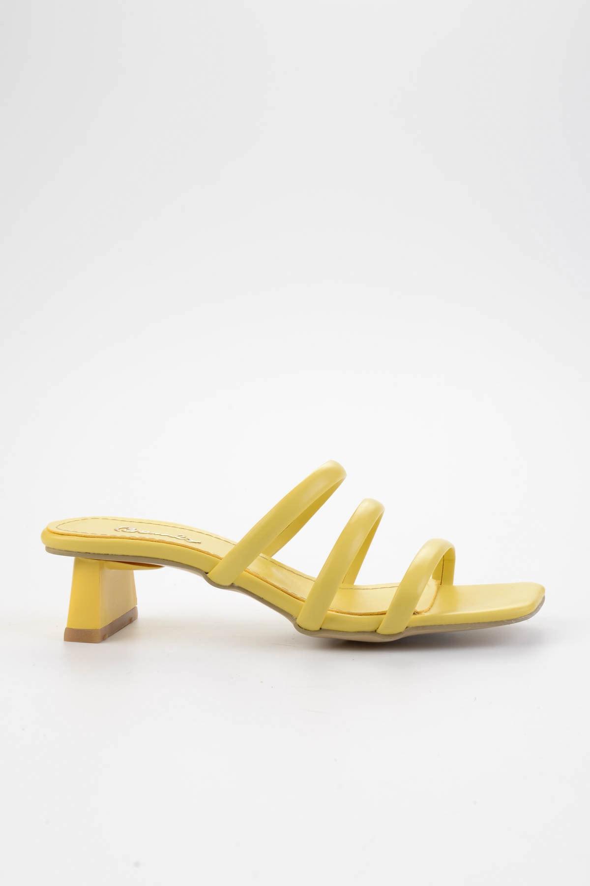 Bambi Sarı Kadın Sandalet L0533001509 2
