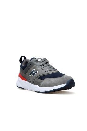 Hammer Jack Unisex Gri Florida Deri Sneaker Ayakkabı