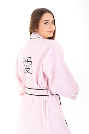 Minteks Kadın Kimono Bornoz