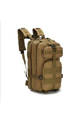 Silyon Askeri Giyim Taktik Su Geçirmez Askeri Tip Çanta 35 Litre Çöl Renk