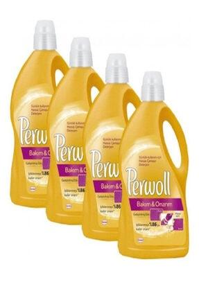 Perwoll Hassas Bakım Sıvı Çamaşır Deterjanı Bakım Onarım 3l 4'lü Set