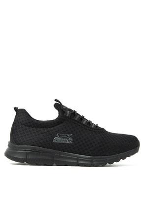 Slazenger ALBUS I Sneaker Kadın Ayakkabı Siyah SA11RK026