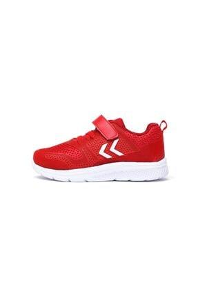 HUMMEL Unisex Çocuk Kırmızı Ayakkabı Flow Jr