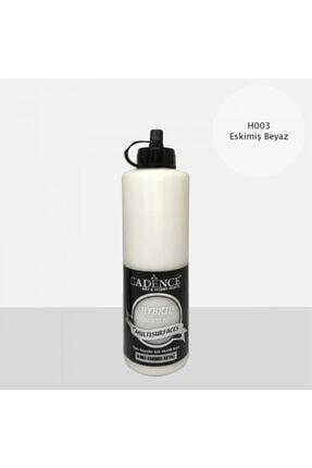 Cadence Eskimiş Beyaz Hybrid Multisurface Akrilik Boya 500 ml