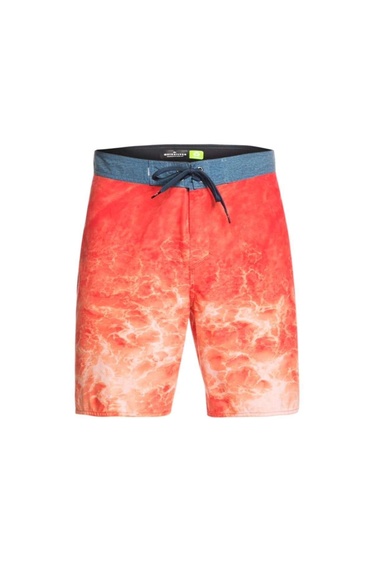 Quiksilver Erkek Oranj Desenli Deniz Şortu 1