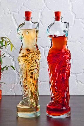 rennway Venüs Yağdanlık - Kadın Figürlü Sirkelik Sosluk 200 Ml 2li Set