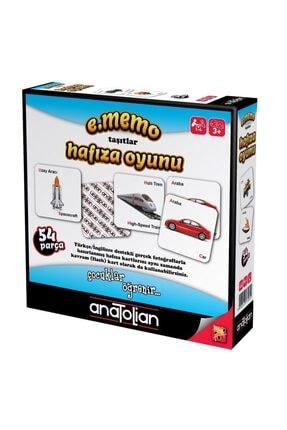 Anatolian Puzzle Anatolian Hafıza Oyunu Taşıtlar