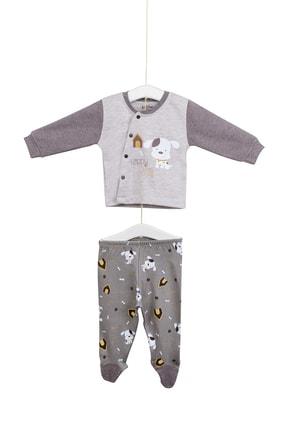 Aziz Bebe Erkek Bebek 2'li Takım 0-6 Ay Azz002022