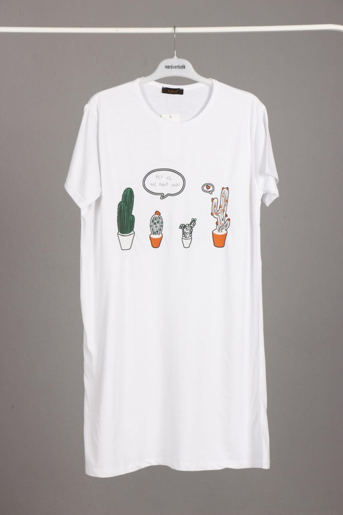merdiven butik Uzun T-tshirt-tesettür Içlik 1