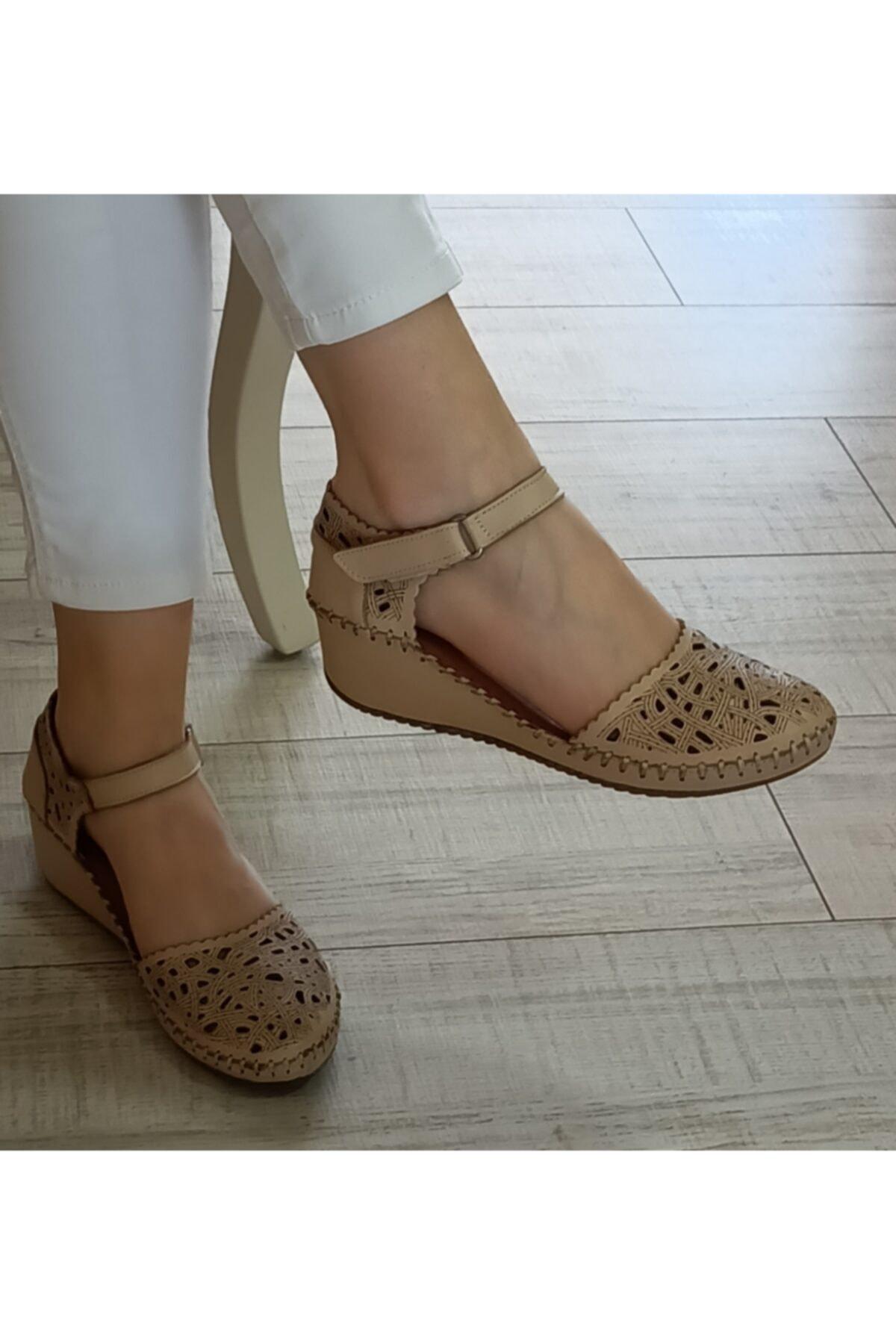Cudo Kadın Hakiki Deri Ayakkabı 1
