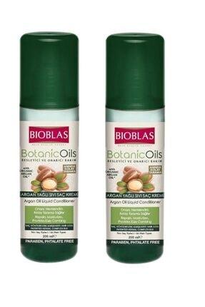 Bioblas Argan Yağlı Sıvı Saç Kremi 200 Ml X 2 Adet