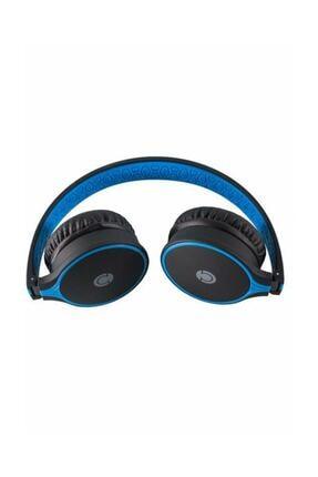 Preo My Sound Ms08 Kablosuz Mansonlu Bluetooth Kulak Üstü Kulaklık Mavi