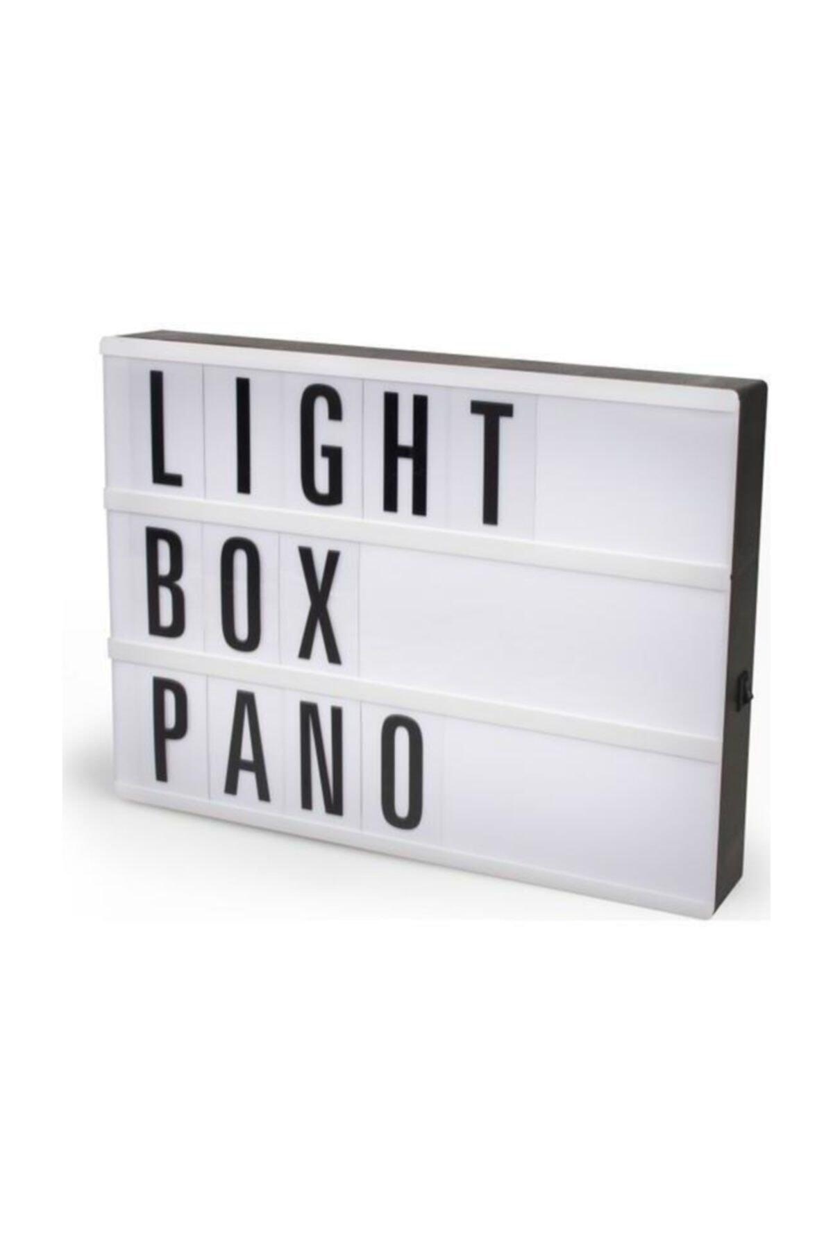 Ömr Dizayn Hediye Işıklı Harfli Dekoratif Led Pano Lightbox -Küçük 2