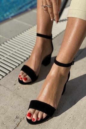 İnan Ayakkabı Kadın Tek Bant Bilekli Topuklu Ayakkabı