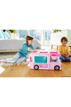 Barbie ®'nin Muhteşem Karavanı® Ve Aksesuarları, Havuz, Kamyonet, Tekne Ve 50 Aksesuarlı Araç