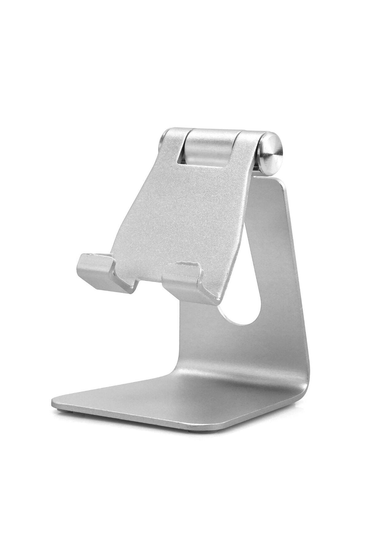 Techmaster Sec-on Metal Telefon Tablet Stand Masaüstü Ayarlanabilir Dock Standı 1