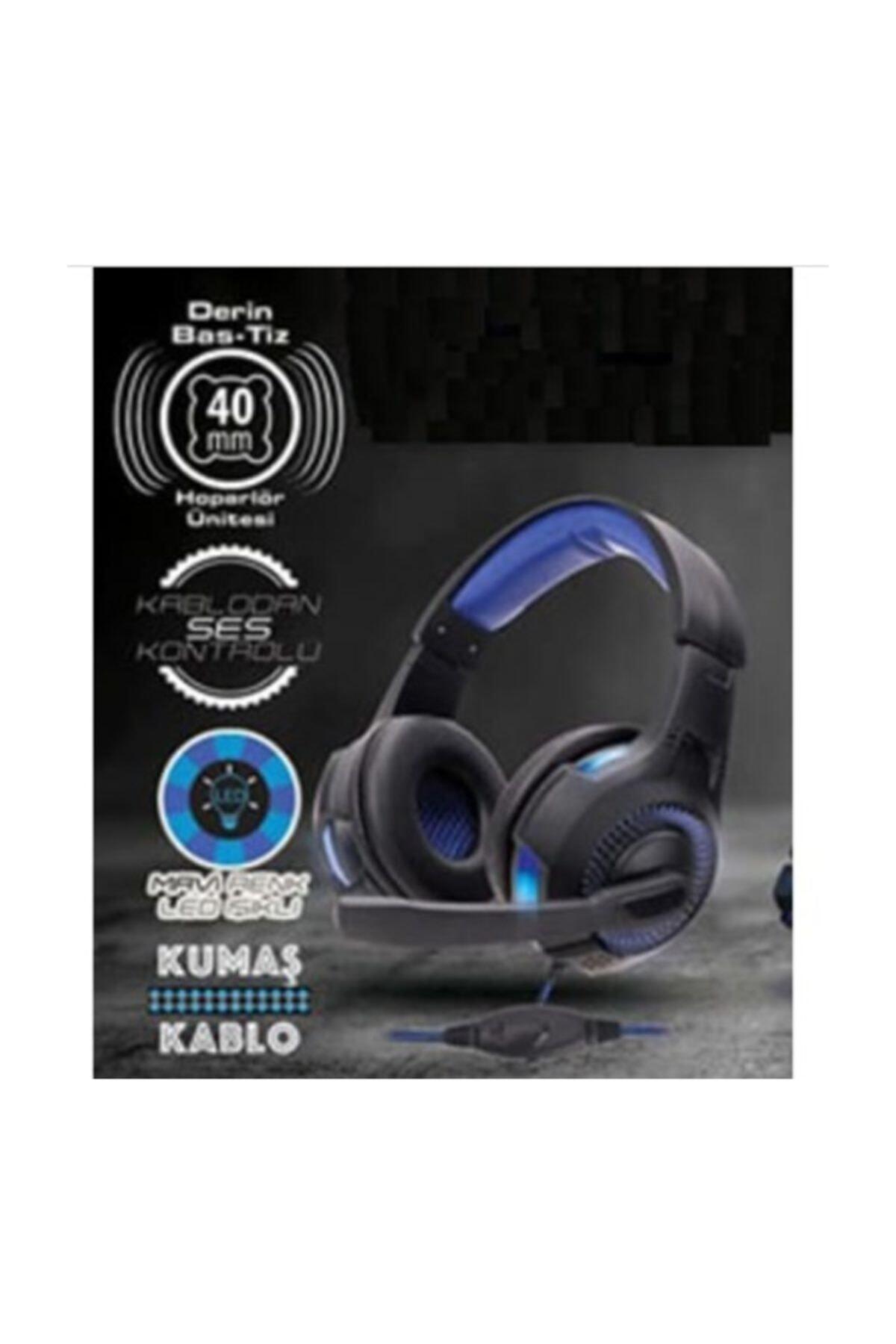 Piranha 2145 Gaming Kulaklık Işıklı Mikrofonlu Oyuncu Kulaklık 2